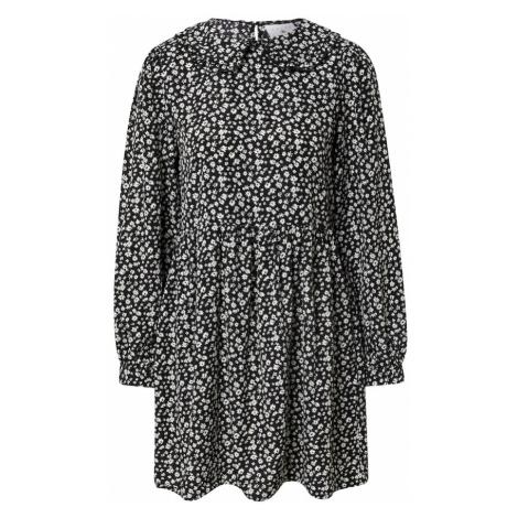 Daisy Street Košilové šaty 'ALEXIA' černá / bílá