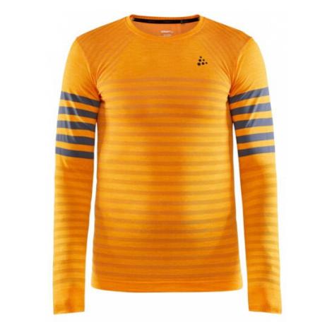 Pánské tričko CRAFT Fuseknit Comfort B oranžová