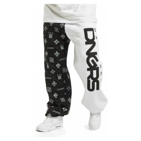 Dangerous DNGRS / Sweat Pant Half Crown & King in black