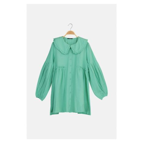 Trendyol Light Green Baby Collar Hijab Tunic