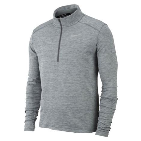 Nike PACER TOP HZ šedá - Pánské běžecké triko s dlouhými rukávy