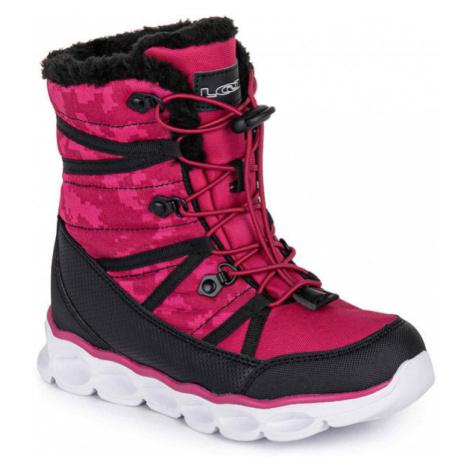 Loap TAHORI růžová - Dětská zimní obuv