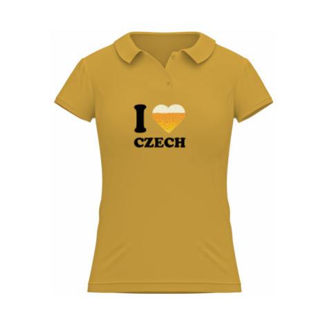 Dámské polo BC Heavy I love czech beer