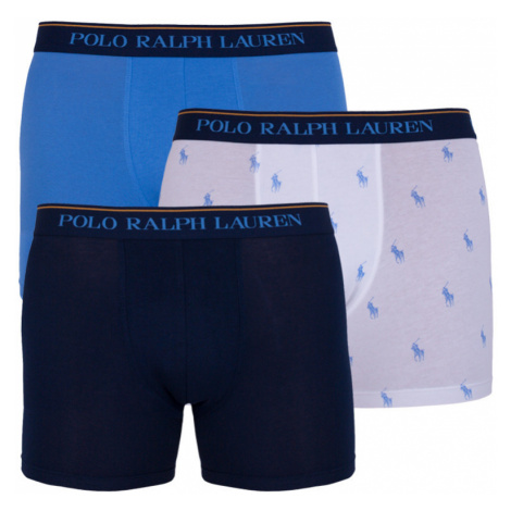 3PACK pánské boxerky Ralph Lauren vícebarevné (714730410001)