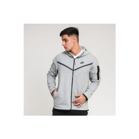 Nike M NSW Tech Fleece Hoodie FZ WR melange šedá