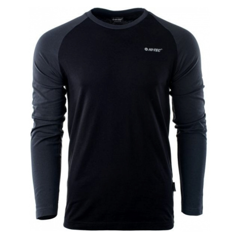 Hi-Tec PURO LS černá XXL - Pánské triko s dlouhým rukávem