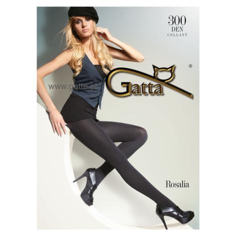 Hladké dámské punčochové kalhoty ROSALIA 300 Gatta
