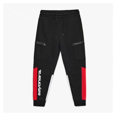 Cropp - Žerzejové kalhoty joggers - Černý