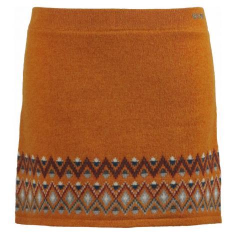 Zimní vlněná sukně Skhoop Ulrika honey