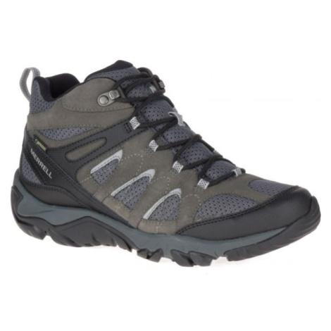 Merrell OUTMOST MID VENT GTX šedá 9 - Pánské outdoorové boty