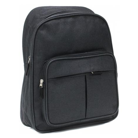 Černý zipový pánský batoh Clarke Tapple