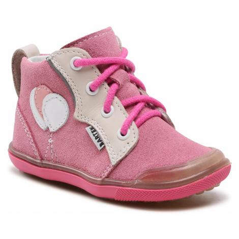 Kotníková obuv BARTEK - 81844-002 Róż/Beż
