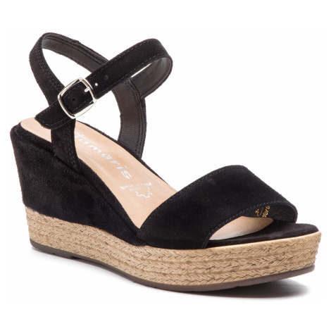 Sandály TAMARIS - 1-28062-22 Black 001