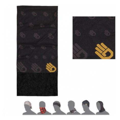 HAND Multifunkční šátek s fleecem 16200172 černá UNI Sensor