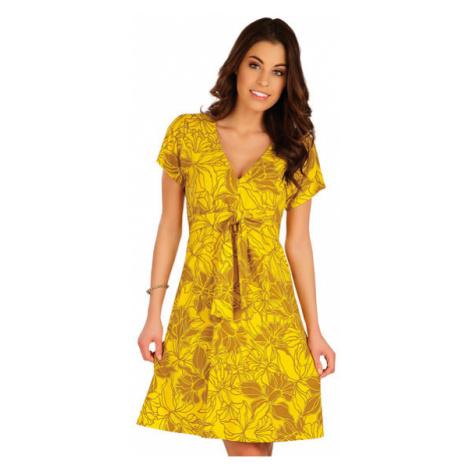 Dámské šaty s krátkým rukávem Litex 5A077 | tisk