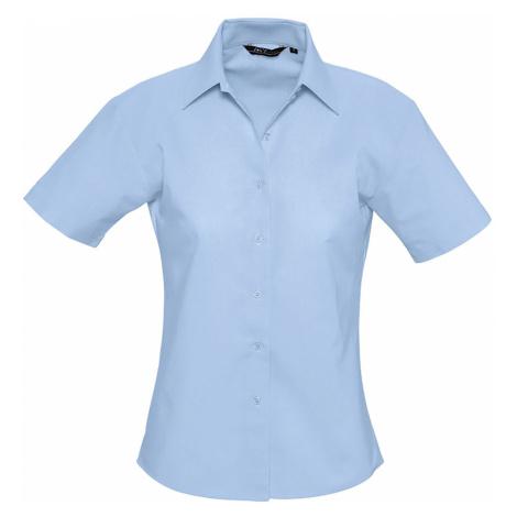 SOLS Dámská košile ELITE 16030220 Sky blue SOL'S