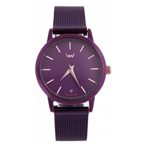 Dámske fialové hodinky Fleco VUCH