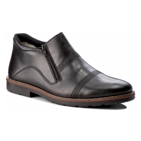 Kotníková obuv RIEKER - 15381-00 Schwarz