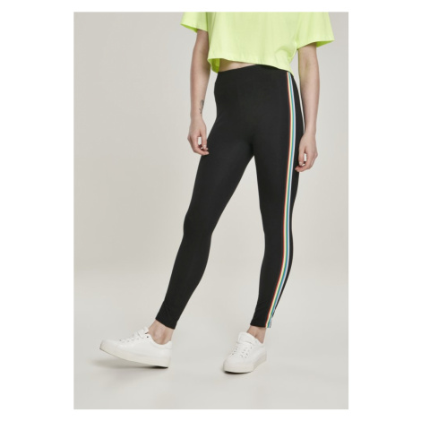 Legíny Urban Classics Ladies Multicolor Side Taped Leggings