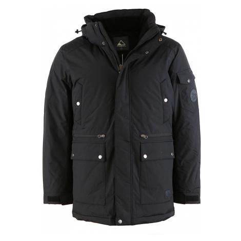PIROL bunda pánská Gentleman Straight Zipper FWM17008 zimní péřová