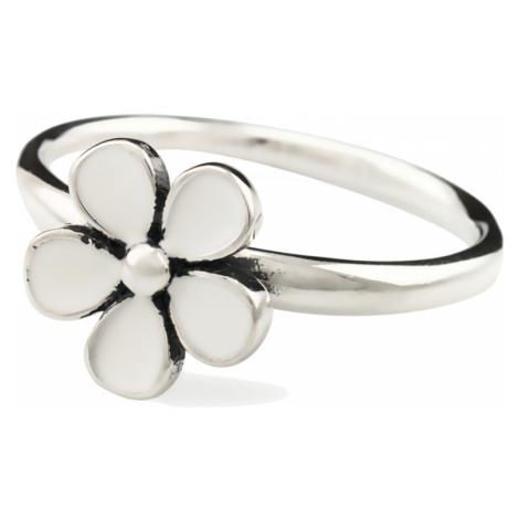 Linda's Jewelry Stříbrný prsten Flower retro IPR002 Velikost: 54