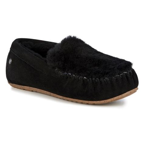 Emu černé podzimní mokasíny Cairns Reerse Fur Black/Noir Emu Australia