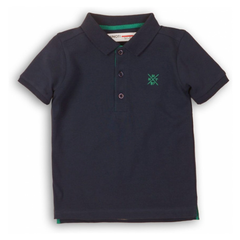 Minoti Tričko chlapecké Polo s krátkým rukávem, Minoti, 1POLO 2, tmavě modrá