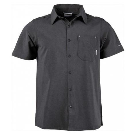 Columbia TRIPLE CANYON SHORT SLEEVE SHIRT černá - Pánská outdoorová košile
