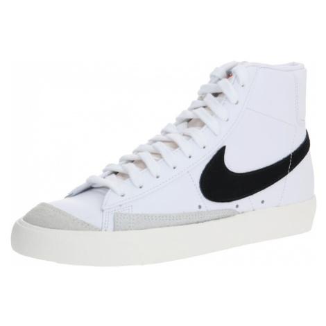 Nike Sportswear Kotníkové tenisky 'Blazer Mid 77 Vintage' bílá / černá