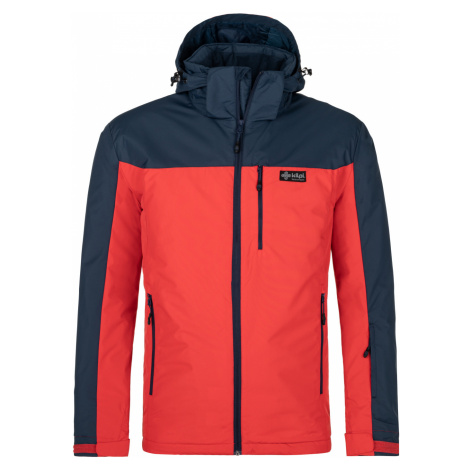 KILPI Pánská lyžařská bunda FLIP-M NM0036KIRED Červená