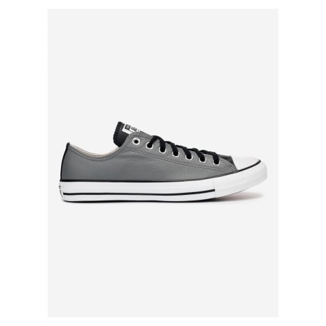Seasonal Colour Leather Chuck Taylor All Star Tenisky Converse Šedá