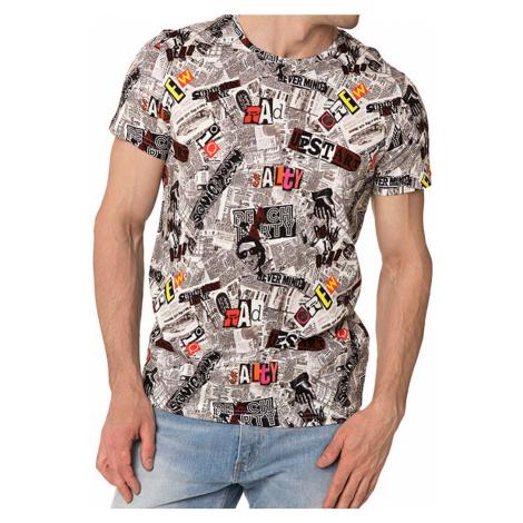 Pánské tričko John Frank JFTD34