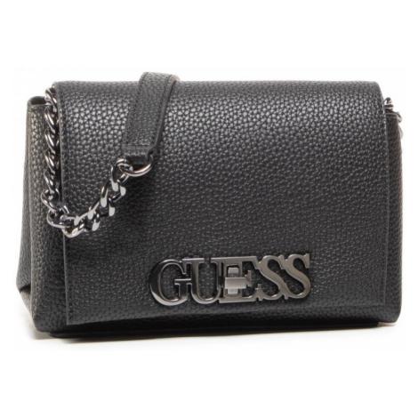 Guess GUESS dámská černá crossbody kabelka UPTOWN CHIC MINI CROSSBODY