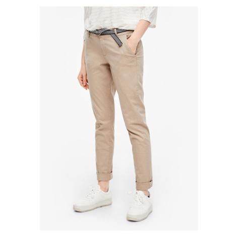 s.Oliver plátěné chino kalhoty s páskem 04.899.73.6058/8402