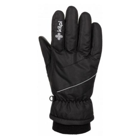 KILPI Unisex lyžařské rukavice TATA-U LU0009KIBLK Černá