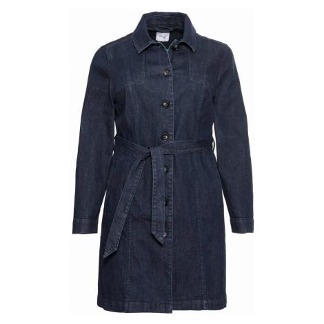 SHEEGO Přechodný kabát tmavě modrá