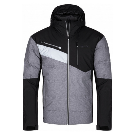Kilpi Pánská lyžařská bunda Teddy tmavě šedá