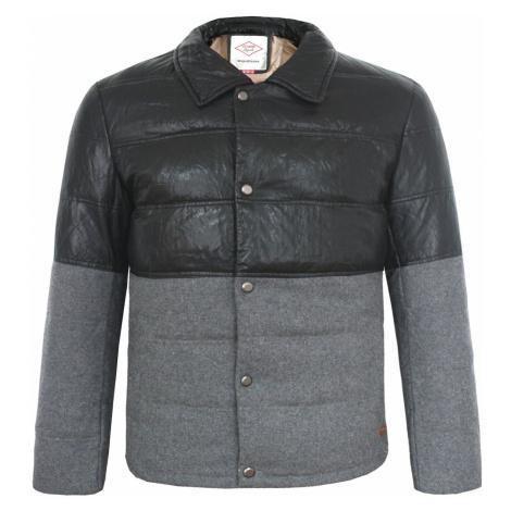 Lee Cooper PU Wool Jacket Mens