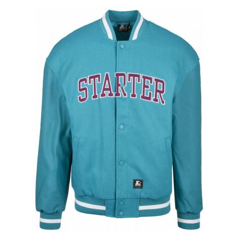 Starter Team Jacket - lake blue