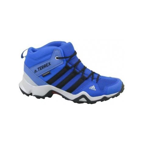 Adidas Terrex AX2R Mid CP K Modrá