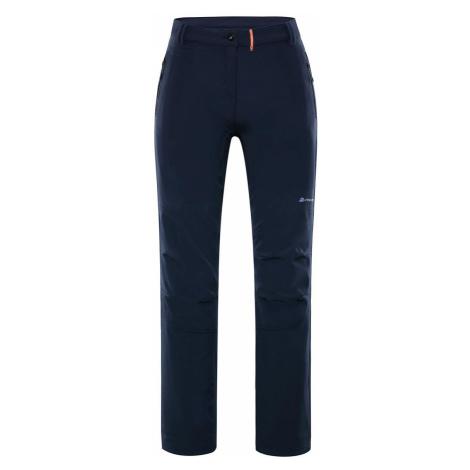 ALPINE PRO MURIA 3 INS. Dámské softshellové kalhoty zateplené LPAP340602 mood indigo