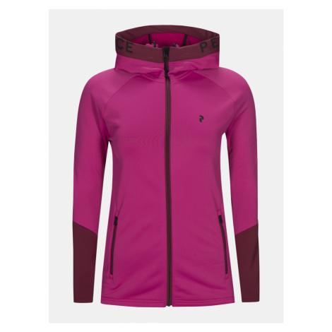 Mikina Peak Performance Wridezh Sweatshirt - Růžová