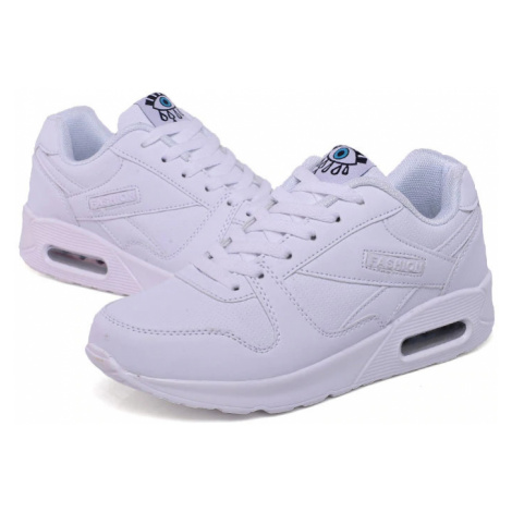 Kožené vysoké modré tenisky růžové fashion boty na platformě