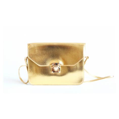 BRIGHT Společenská kabelka Zlatá, 21 x 2 x 16 (BR17-WSJ2-22SYN)