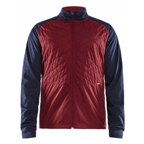Pánská bunda CRAFT Storm Balance červená/tmavě modrá