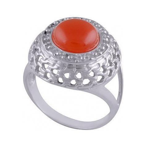 AutorskeSperky.com - Stříbrný prsten s karneolem - S302