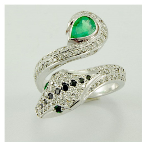 Diamantový prsten s motivem hada 22448 OPTIMA DIAMANT