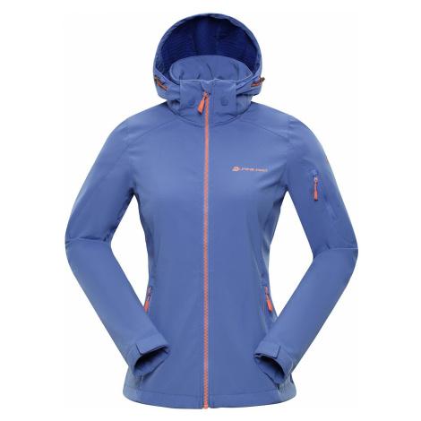 Dámská softshellová bunda Alpine Pro NOOTKA 6 - modro-fialová