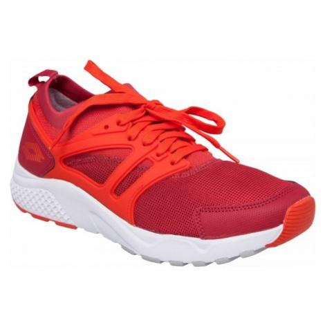 Lotto BREEZE červená - Pánská volnočasová obuv