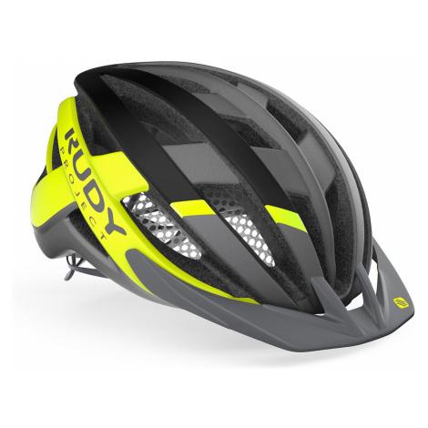 Cyklistická helma Rudy Project VENGER CROSS šedá|zelená